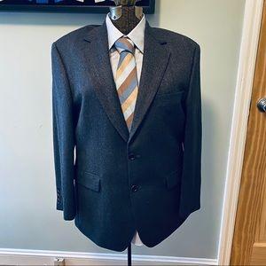 Brooks Brothers 346 grey chevron sport jacket